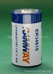 ER34615 D 一次锂电池
