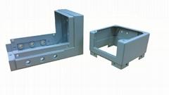 CCTV parts powder coating sheet metal fabrication