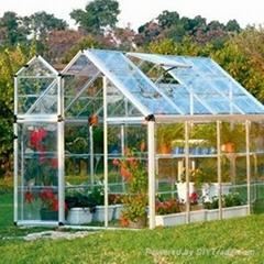 the mini greenhouse