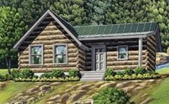防腐木木屋木别墅