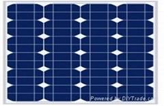 60W单晶太阳能电池板