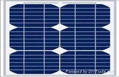 单晶太阳能电池板15W