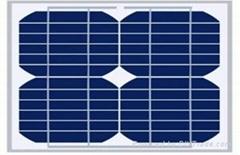 单晶太阳能电池板10W18V