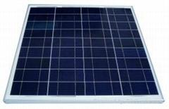 125W多晶太阳能电池板