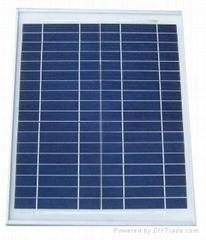 35W多晶太阳能电池板