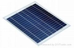 15W多晶太阳能电池板