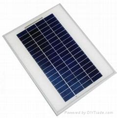 5W多晶太阳能电池板