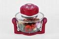 12L multifunctional glass cooker halogen oven KM-803B 3