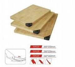 kitchen chopping board with knfie sharpener(T0922T )