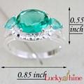 绿晶石戒指