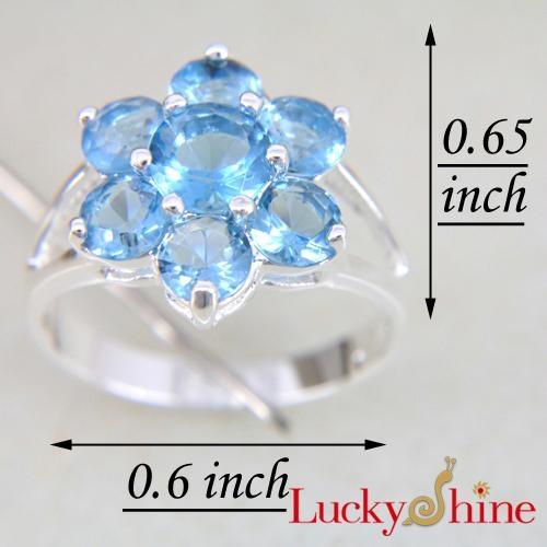 时尚潮流饰品晶石戒指 1