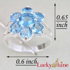 时尚潮流饰品晶石戒指