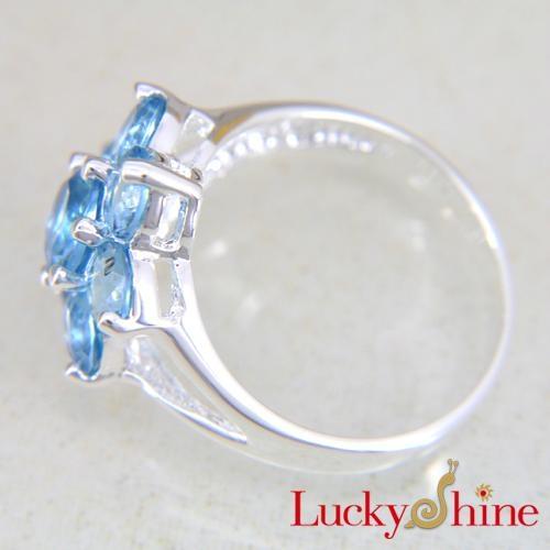 时尚潮流饰品晶石戒指 2
