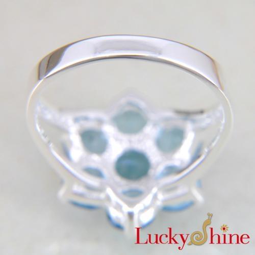 时尚潮流饰品晶石戒指 3