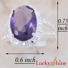紫晶石戒指