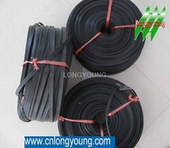 Tension rope for greenhouse black