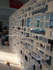 acrylic pattern cutting by CNC