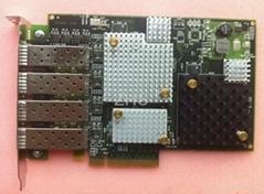 EMULEX LPE12004 8GB PCI-E 四口光纖通道卡