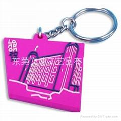 软胶钥匙扣