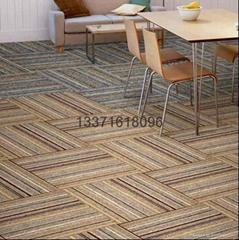 pvc块毯