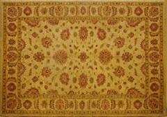 波斯手工编织块毯