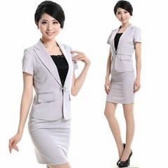 freeship !wholesale&quality assurance lady black ,white summer suits ,