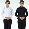 freeship! autumn women long shirt ,black