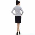 freeship! fashion, white, purple,gray female business shirt 2