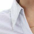freeship! fashion, white, purple,gray female business shirt 3