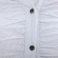 freeship! fashion, white, purple,gray female business shirt 4