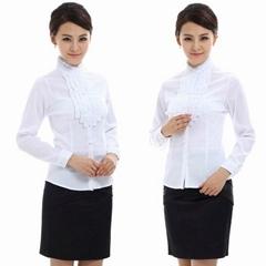 freeship! women easycare , white, purple,gray business clothing