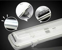 CE RoHS 600mm 1200mm 1500mm IP65 micron sensor emergency led tri-proof light