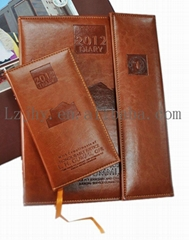 leather notebook supply