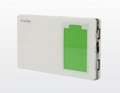 OLED display 12000mAh Power Bank with Dual USB Output (Hot Product - 1*)