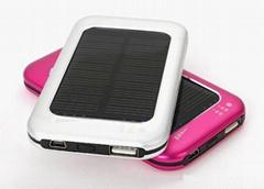 2100mAh Solar Power Bank/Solar Power Bank Charger with Adjustable Voltage 5V9V