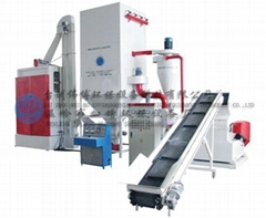 JZ-GCB300 waste circuit board dry-type recycling line