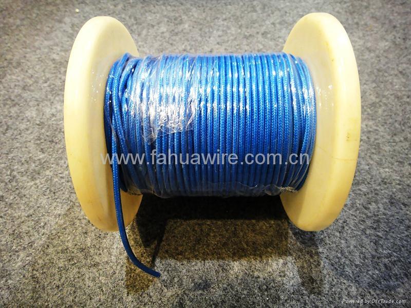 Fiberglass Insulated Wire : H sj k silicone rubber insulated fiberglass braided