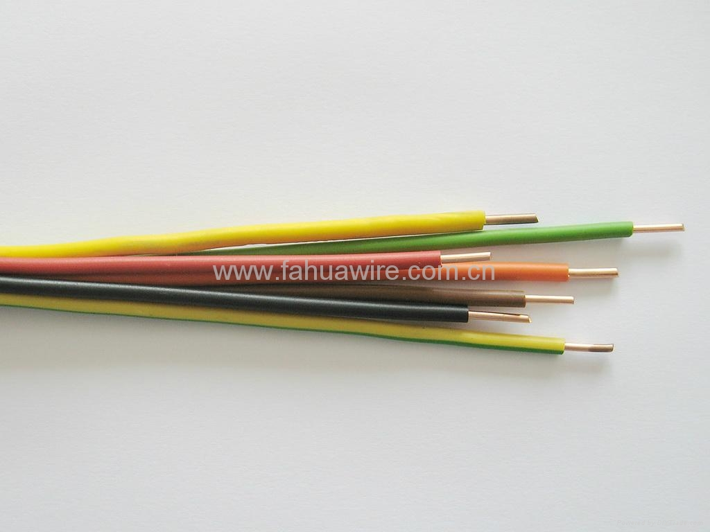 Vde H05v U Pvc Insulated Solid Copper Core Electric Wire Fahua Electrical With Insulation 2