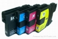 12 x INK CARTRIDGE LC-980BK/C/M/Y for