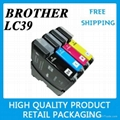 12 x INK CARTRIDGE for BROTHER LC39 B/C