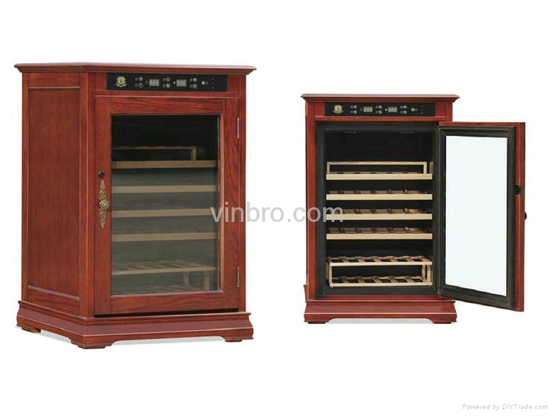 VinBRO Wooden Wine Cellar Cabinet Bar Furniture Electric Home Dispenser Coolers 1