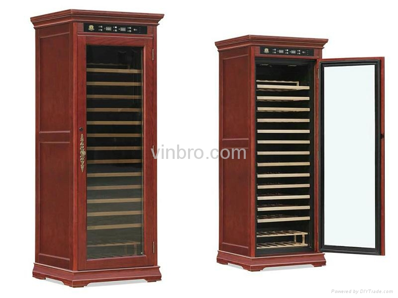VinBRO Wooden Wine Cellar Cabinet Bar Furniture Electric Home Dispenser Coolers 3