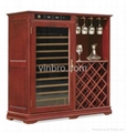 VinBRO Wooden Wine Cellar Cabinet Bar Furniture Electric Home Dispenser Coolers 4