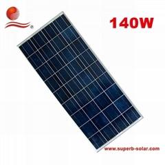140W 多晶太阳能电池板