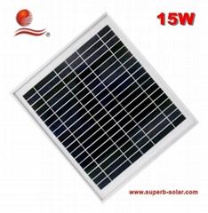 15w太阳能电池板