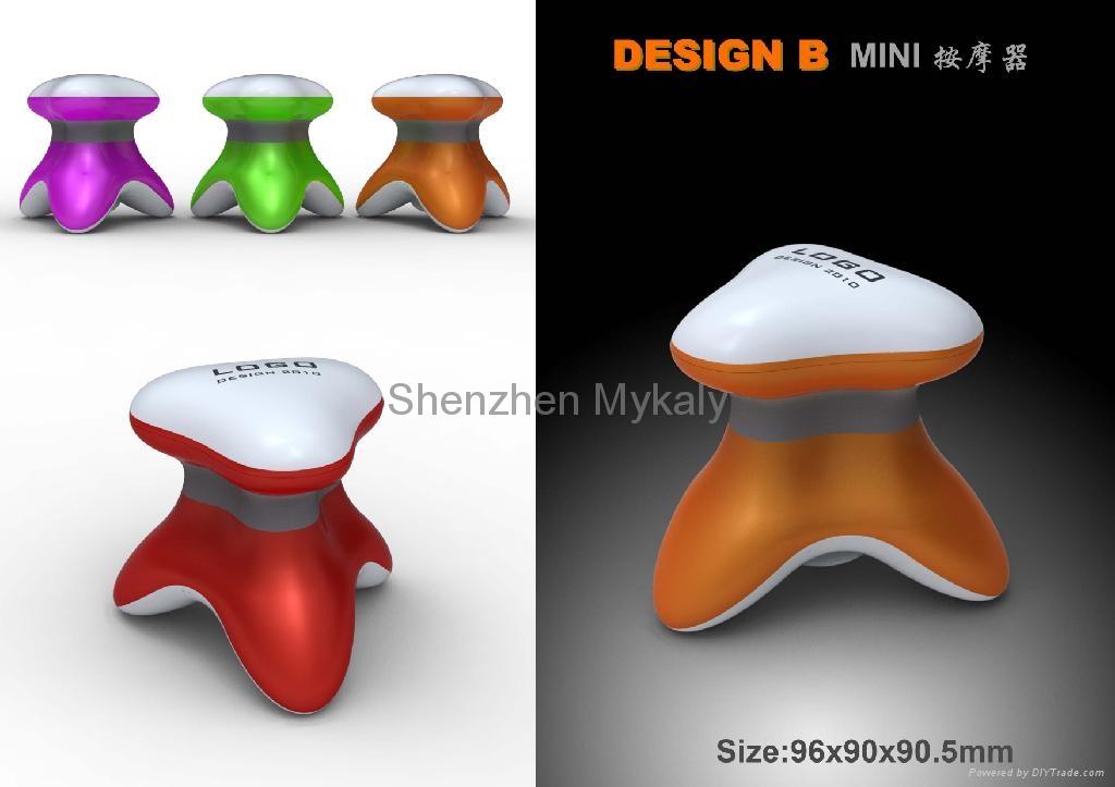USB Mini Triangle Massager 4
