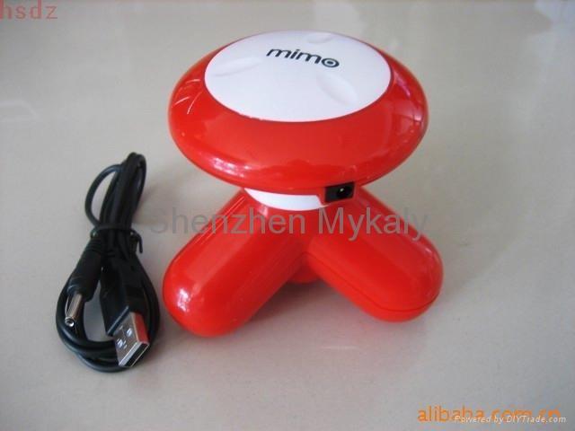USB Mini Triangle Massager 5