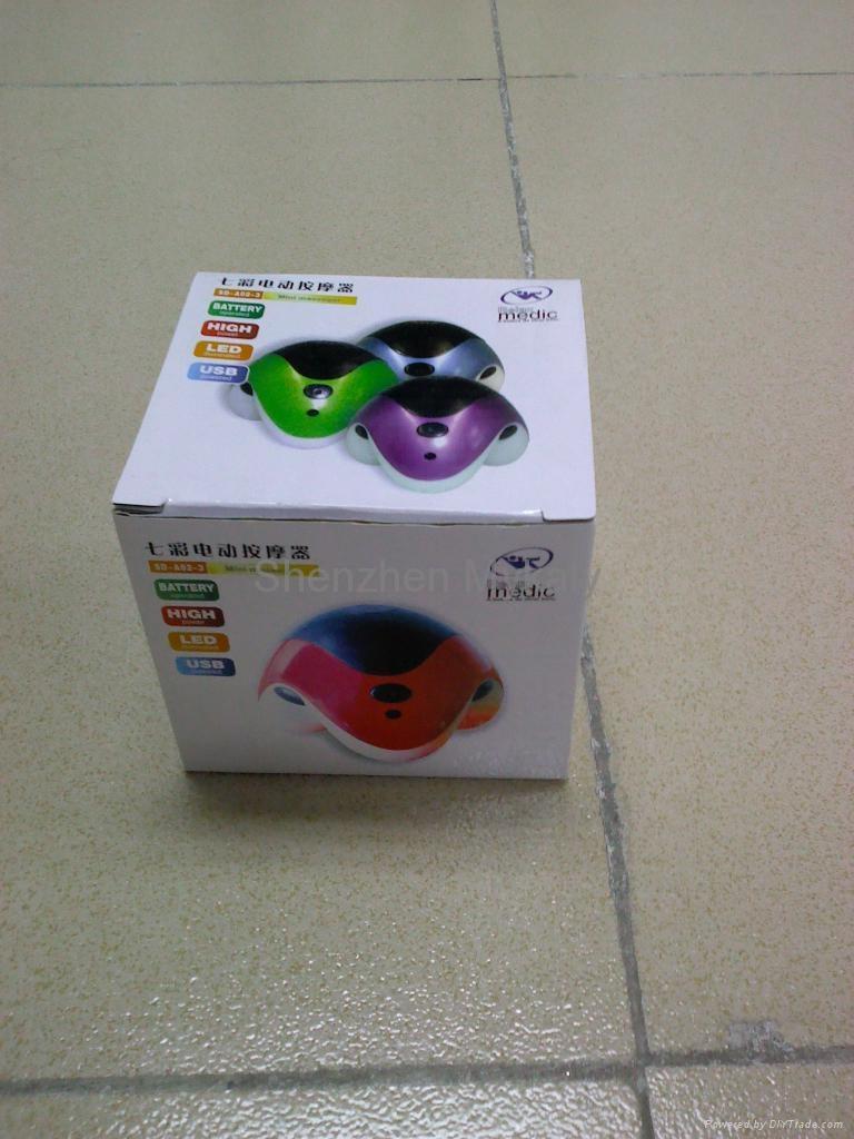 Colorful Mini Triangle Massager 2