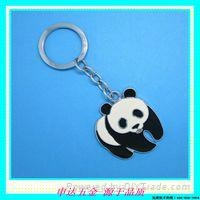 熊猫钥匙扣