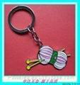 毛线团金属钥匙扣 1